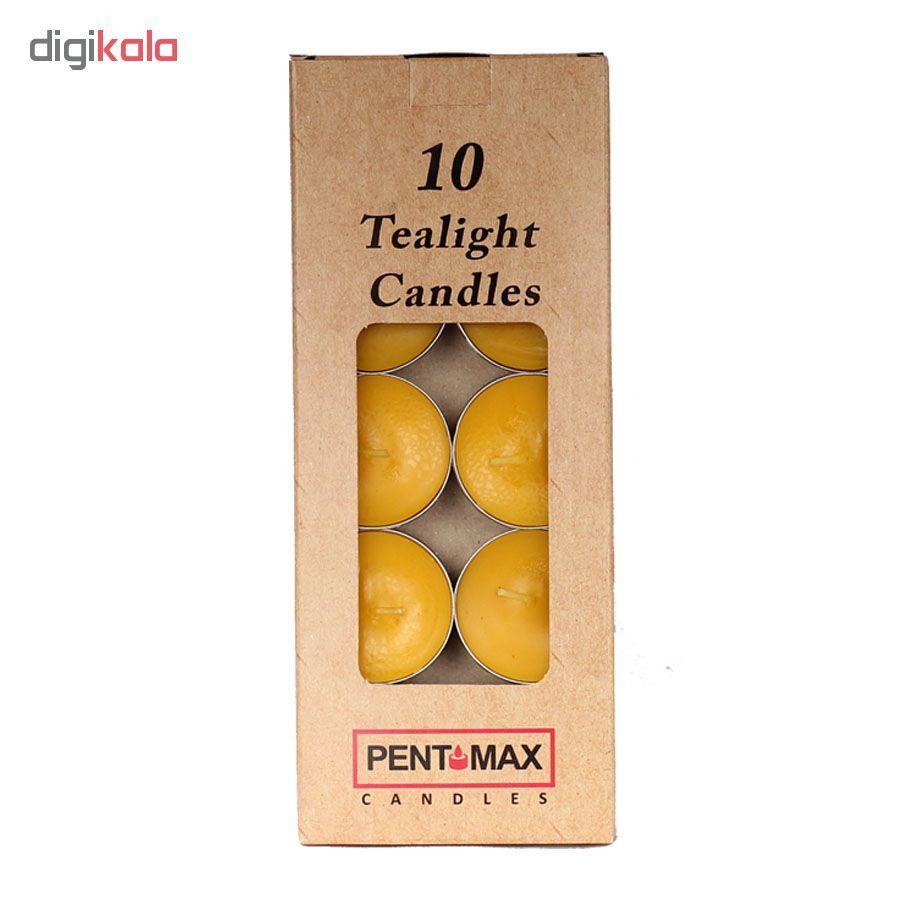 شمع وارمر پنت مکس مدل TeaLight بسته 10 عددی main 1 5