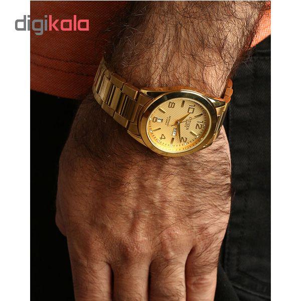 کد تخفیف                                      ساعت مچی عقربه ای مردانه کد D701                     غیر اصل
