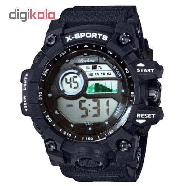 کد تخفیف                                      ساعت مچی دیجیتال سانسی مدل S-640