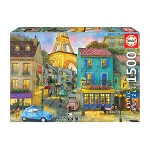 پازل 1500 تکه ادوکا مدل Paris Streets