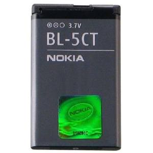 باتری موبایل مناسب برای نوکیا مدل BL-5CT با ظرفیت 1050 میلی آمپر ساعت