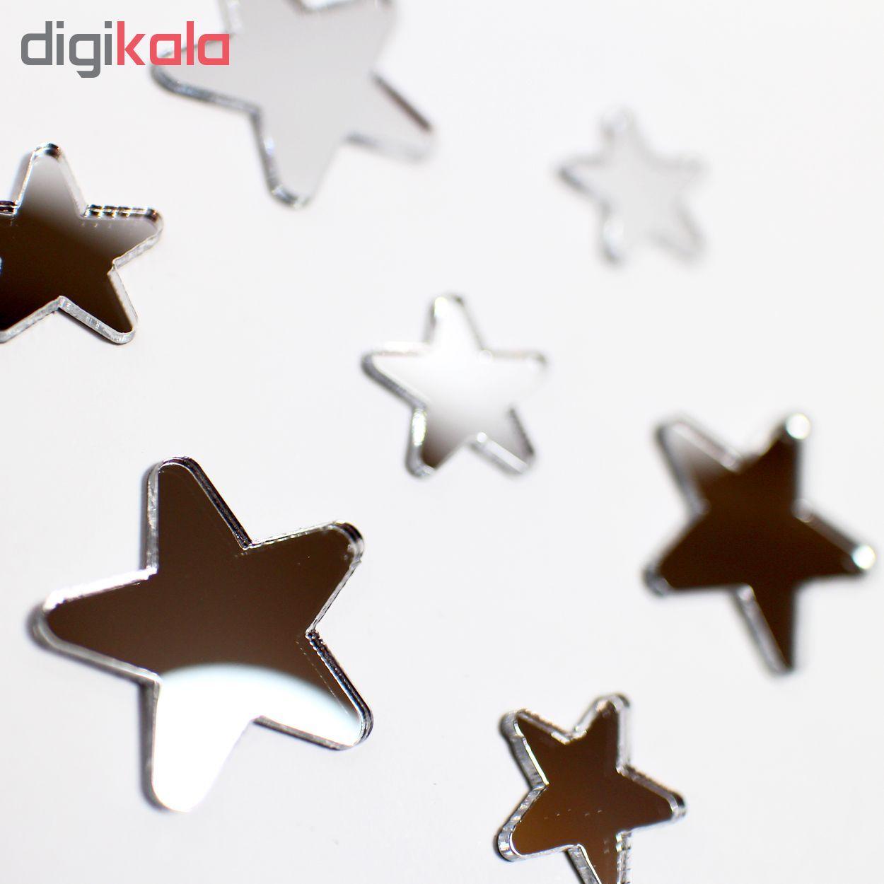 آینه فیلی طرح ستاره های سر گرد کد PG009 main 1 2