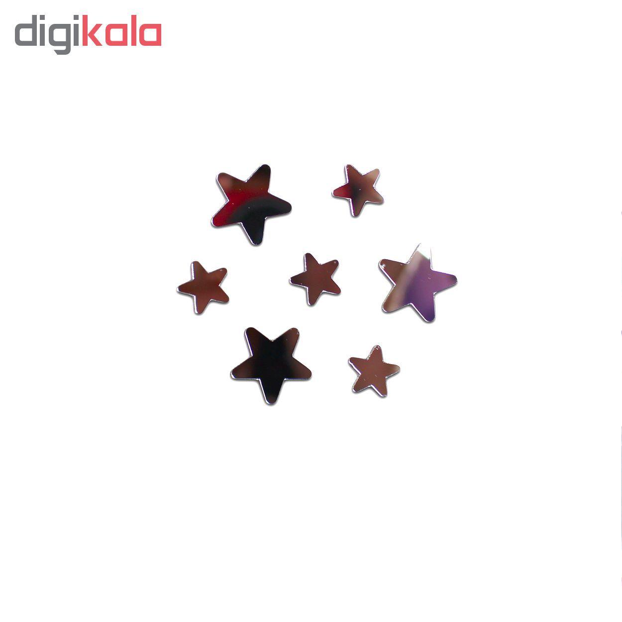 آینه فیلی طرح ستاره های سر گرد کد PG009 main 1 3