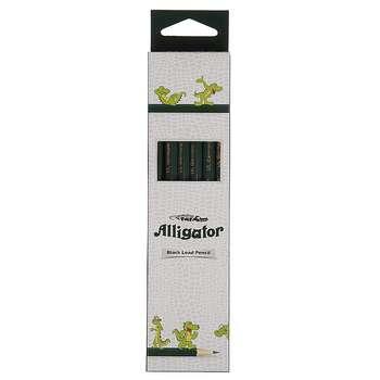 مداد مشکی الیگیتور بسته 12 عددی