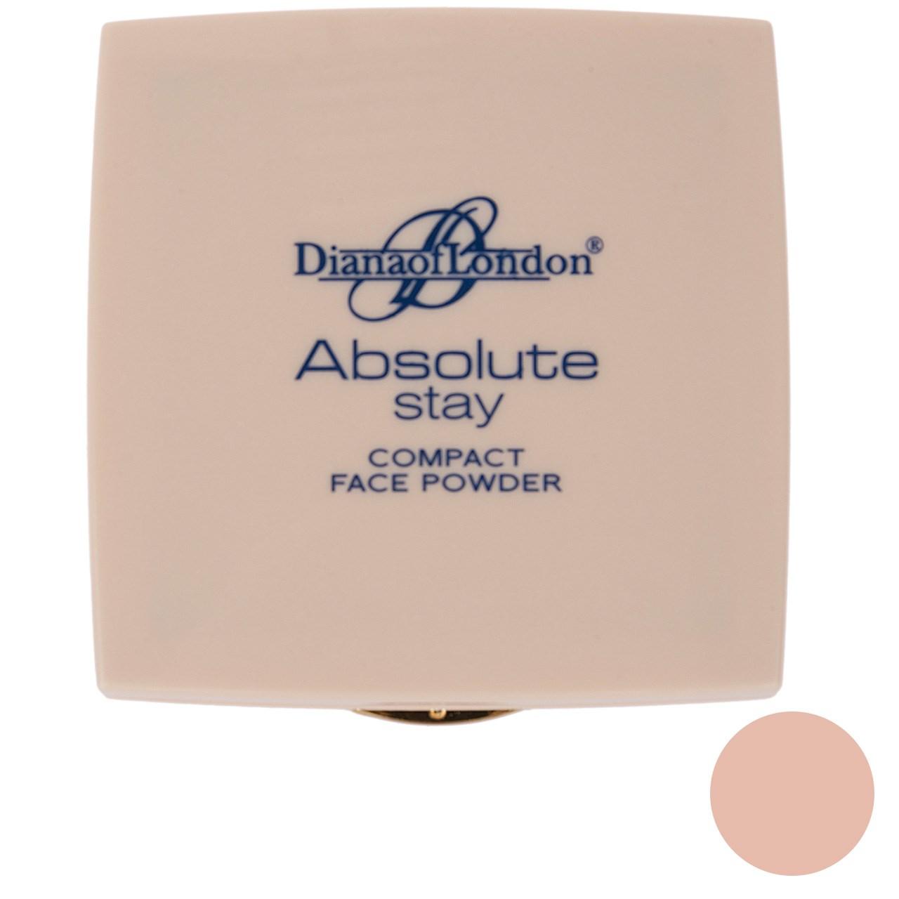 پنکیک دایانا آف لاندن سری Absolute Stay مدل Rose Tan شماره 407