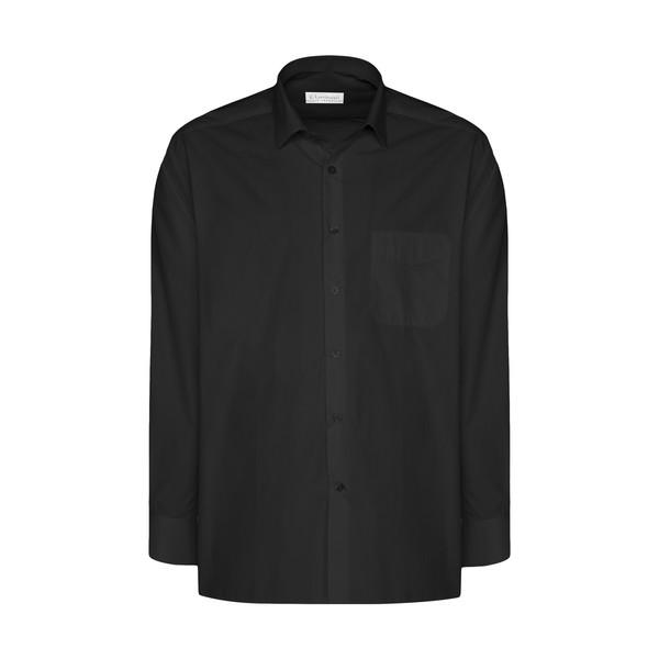 پیراهن مردانه اطمینان مدل 2000748-1 رنگ مشکی