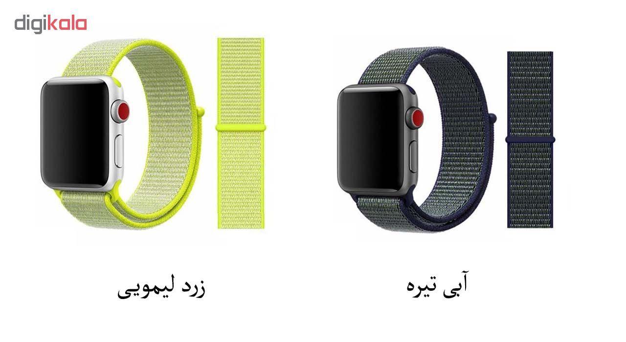 بند مدل sport loop  مناسب برای اپل واچ 38/40 میلی متری main 1 13
