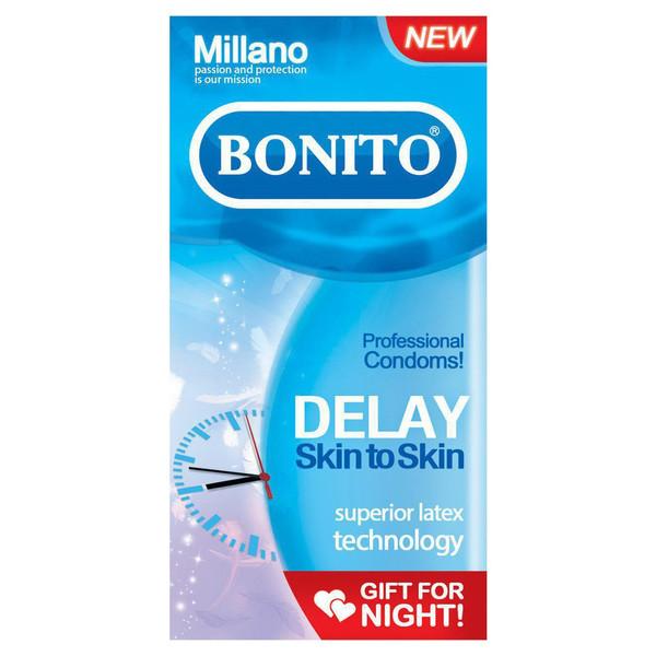 کاندوم بونیتو مدل تاخیری delay بسته 6 عددی