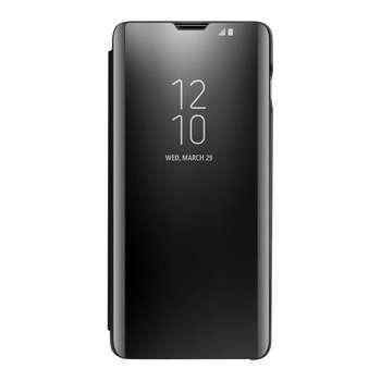کیف کلاسوری مدل Clear View Standing مناسب برای گوشی موبایل سامسونگ Galaxy A20
