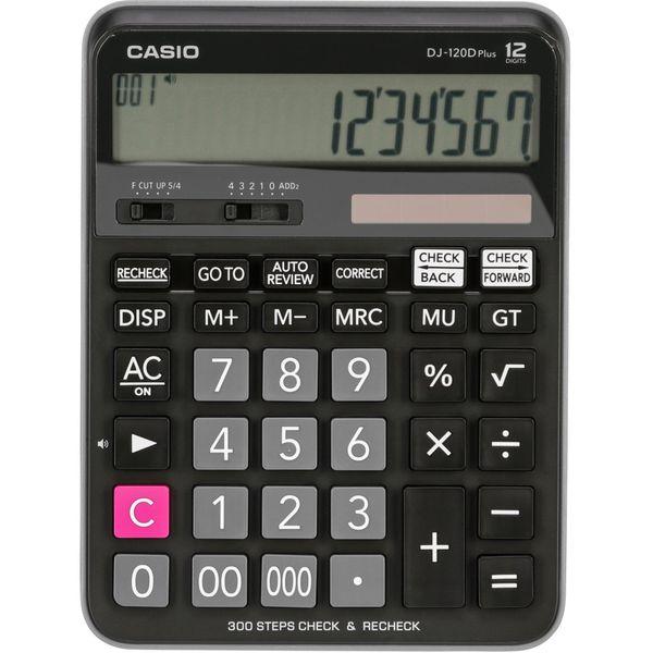 ماشین حساب کاسیو مدل DJ-120D Plus
