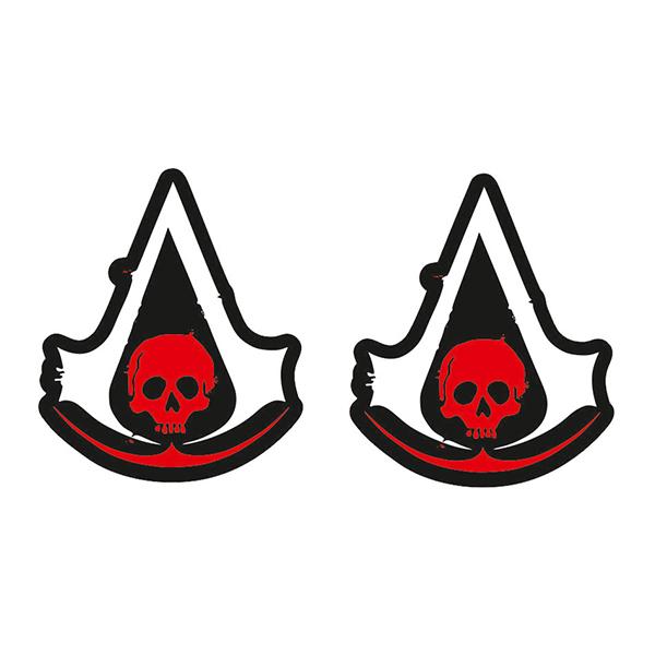استیکر لپ تاپ  طرح Assassin Creed کد 04 بسته 2 عددی