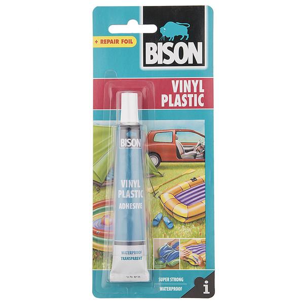 چسب تعمیر بایسن مدل Vinyl Plastic