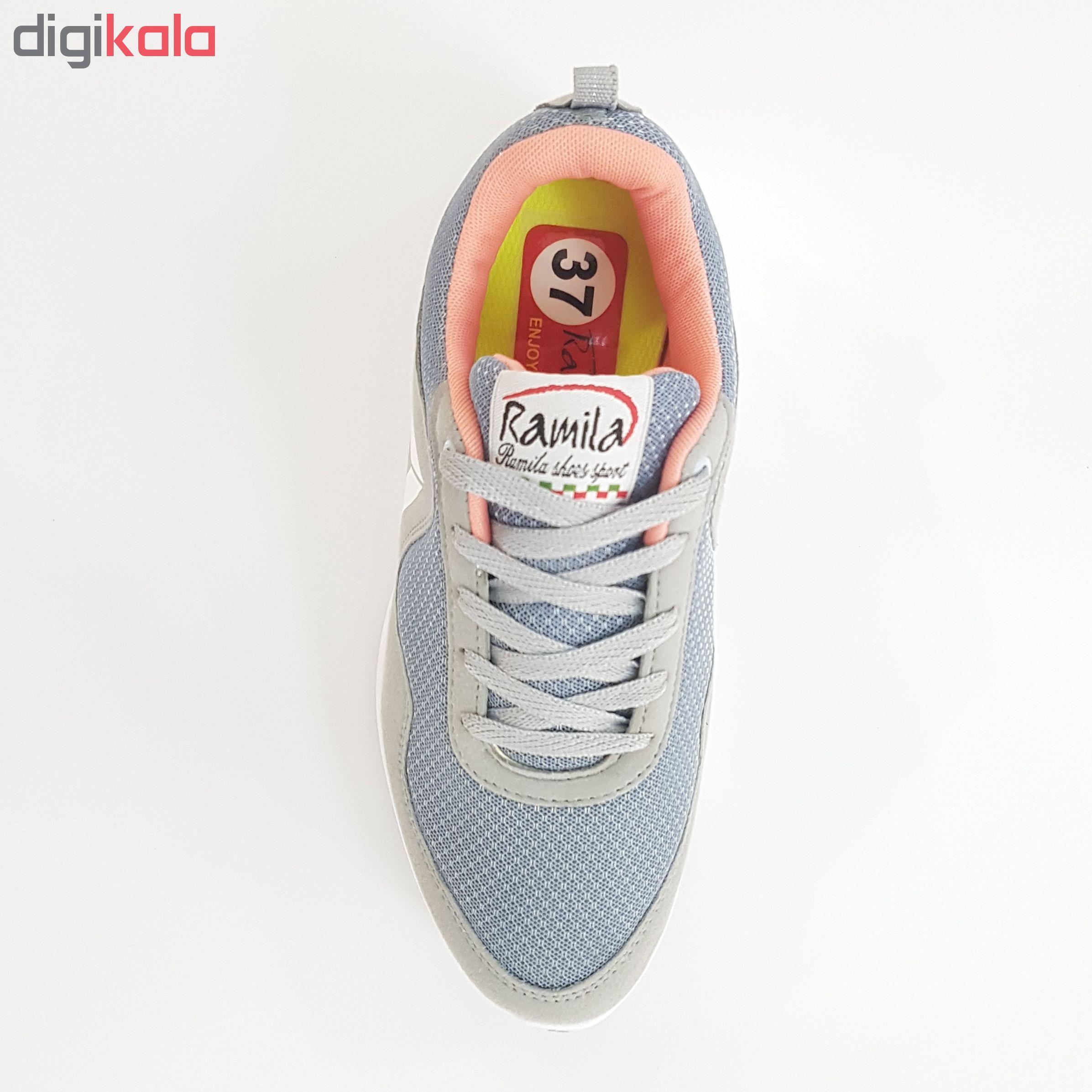 کفش مخصوص پیاده روی زنانه رامیلا مدل Rb bl.wh-2019