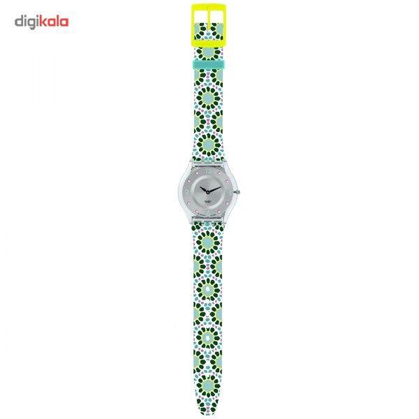 ساعت مچی عقربه ای زنانه سواچ مدل SFK327 -  - 1