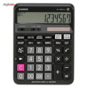 ماشین حساب کاسیو مدل DJ-120D Plus  CASIO DJ-120D Plus Calculator