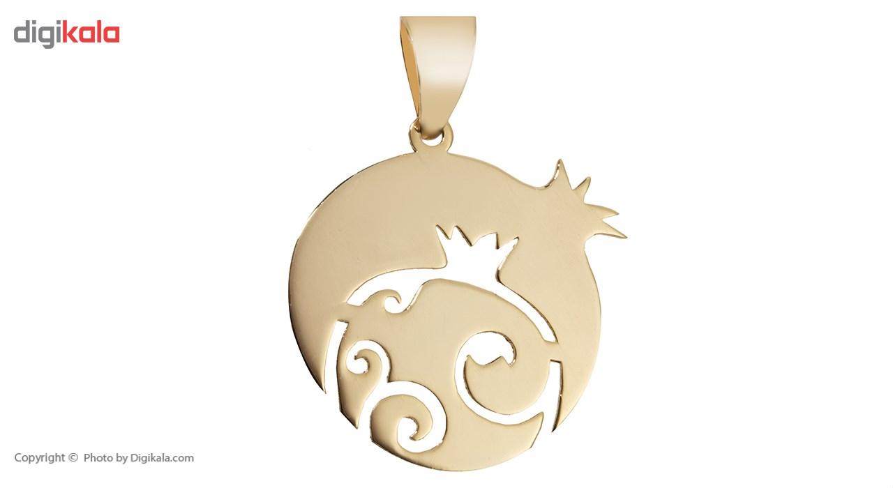 آویز گردنبند طلا 18 عیار ماهک مدل MM0608 - مایا ماهک -  - 2