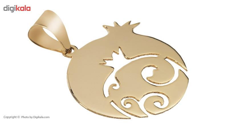 آویز گردنبند طلا 18 عیار ماهک مدل MM0608 - مایا ماهک