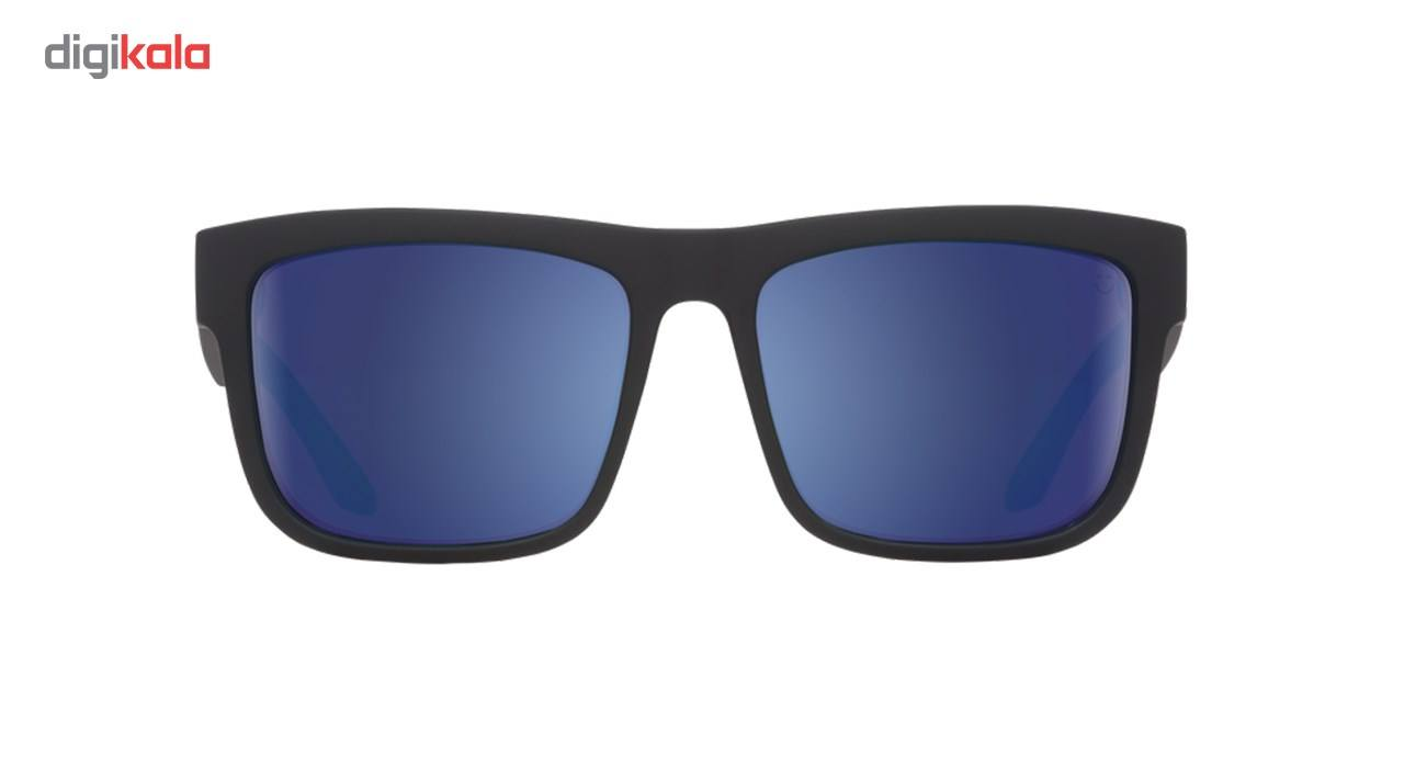 عینک آفتابی اسپای سری Discord مدل Matte Back Happy Bronze Polar Blue Spectra -  - 2