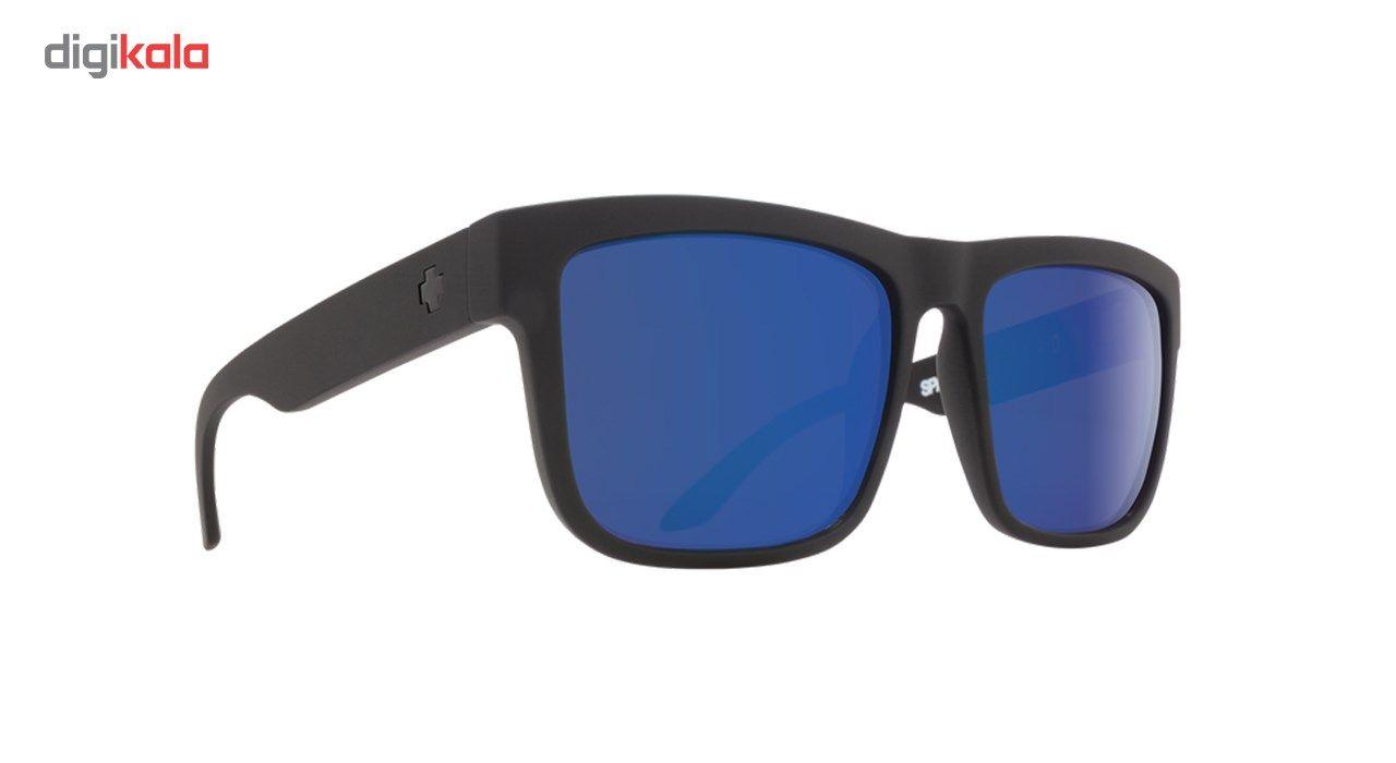 عینک آفتابی اسپای سری Discord مدل Matte Back Happy Bronze Polar Blue Spectra -  - 4