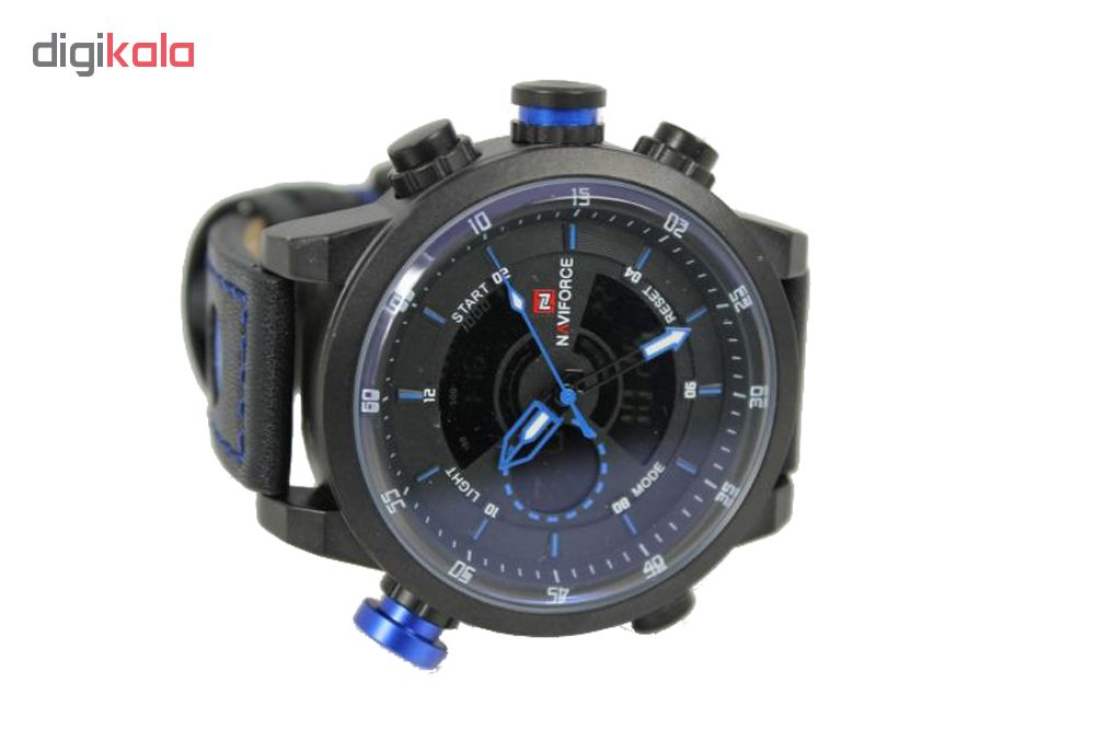 ساعت مچی عقربه ای مردانه نیوی فورس مدل NF9081-BBB