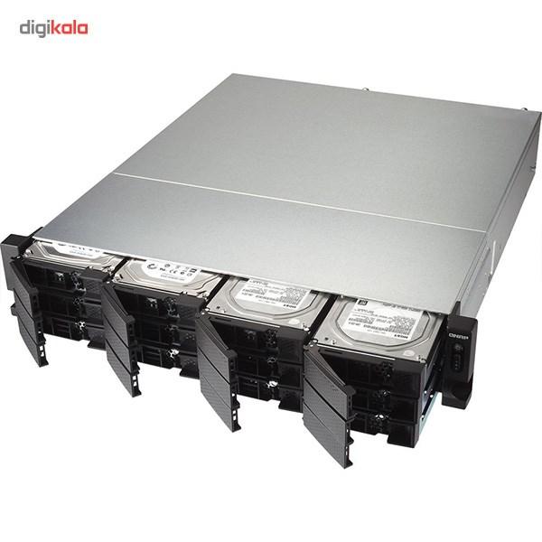 ذخیره ساز تحت شبکه کیونپ مدل TS-1263U بدون دیسک