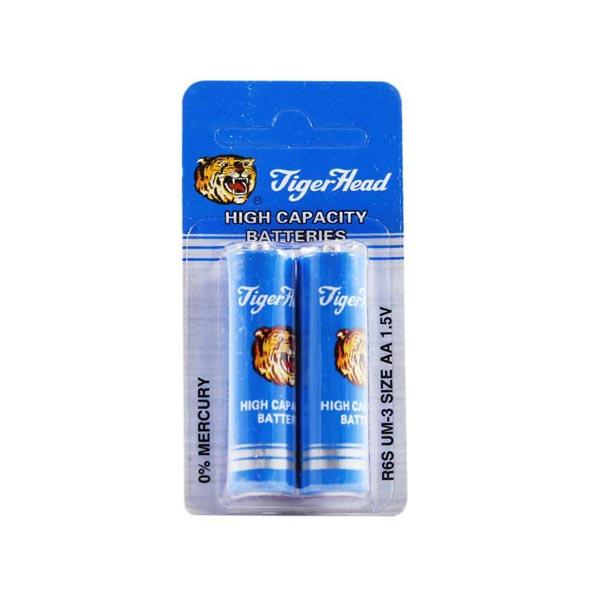 بررسی و {خرید با تخفیف} باتری قلمی تایگر کد ۰۰۲ بسته ۲ عددی اصل