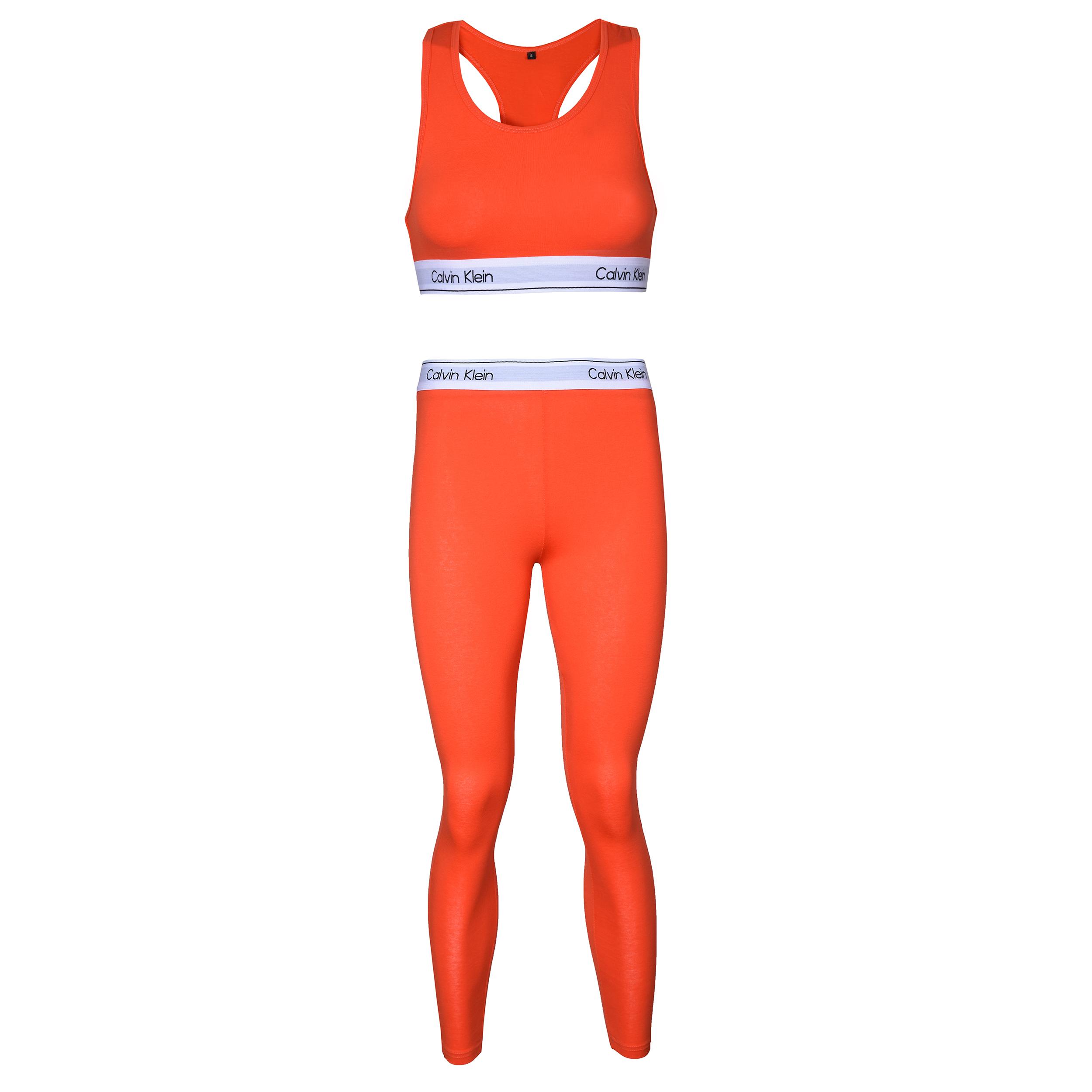 ست نیم تنه و لگینگ ورزشی زنانه کلوین کلاین مدل 5375292