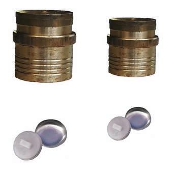 پوکه دکمه مدل 2832 مجموعه 100 عددی به همراه 2 عدد قالب دکمه