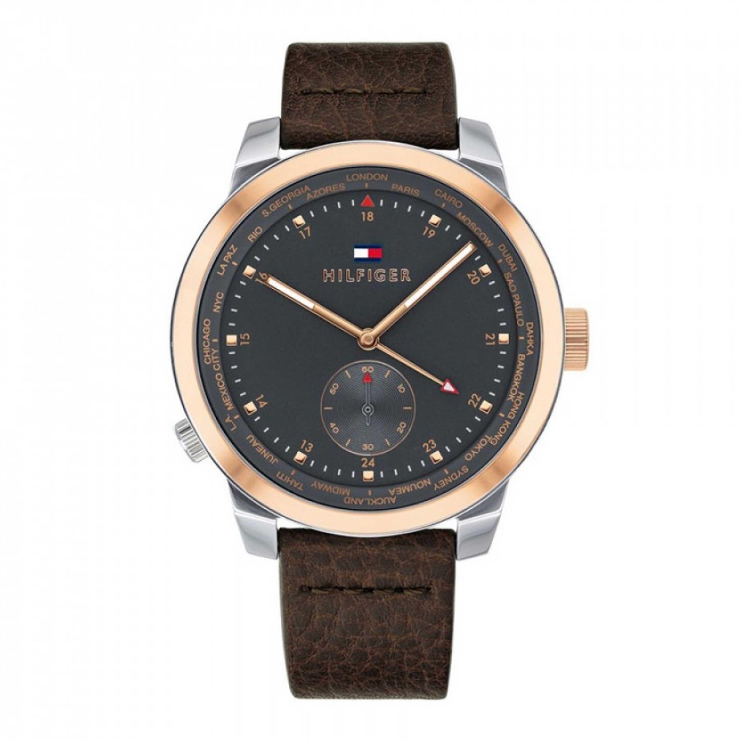 ساعت مچی عقربه ای مردانه تامی هیلفیگر مدل 1791554