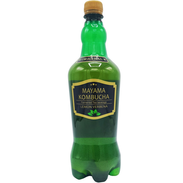 نوشیدنی چای گازدار  به لیمو مایاماکامبوچا حجم 1 لیتر
