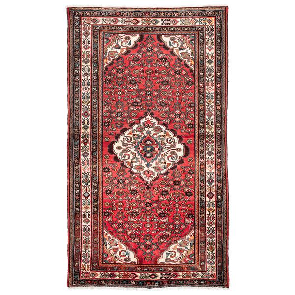 فرش دستباف قدیمی چهار متری حیدریان کد 64950