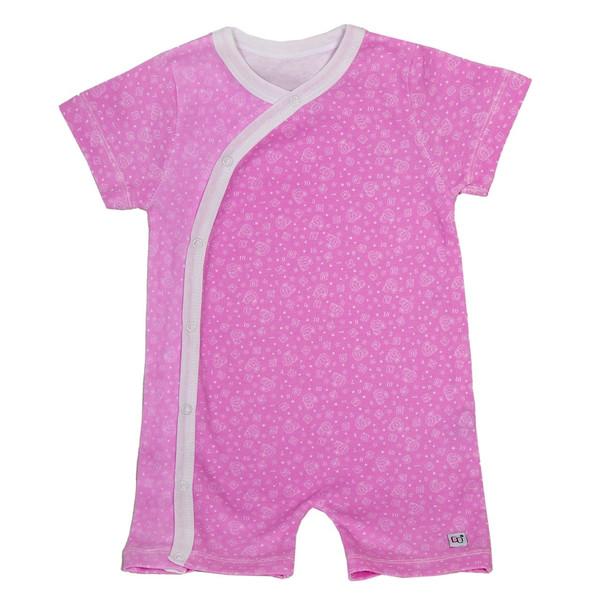 لباس سرهمی هشداردهنده تب بیبی گلو مدل Pink - بیبی گلو