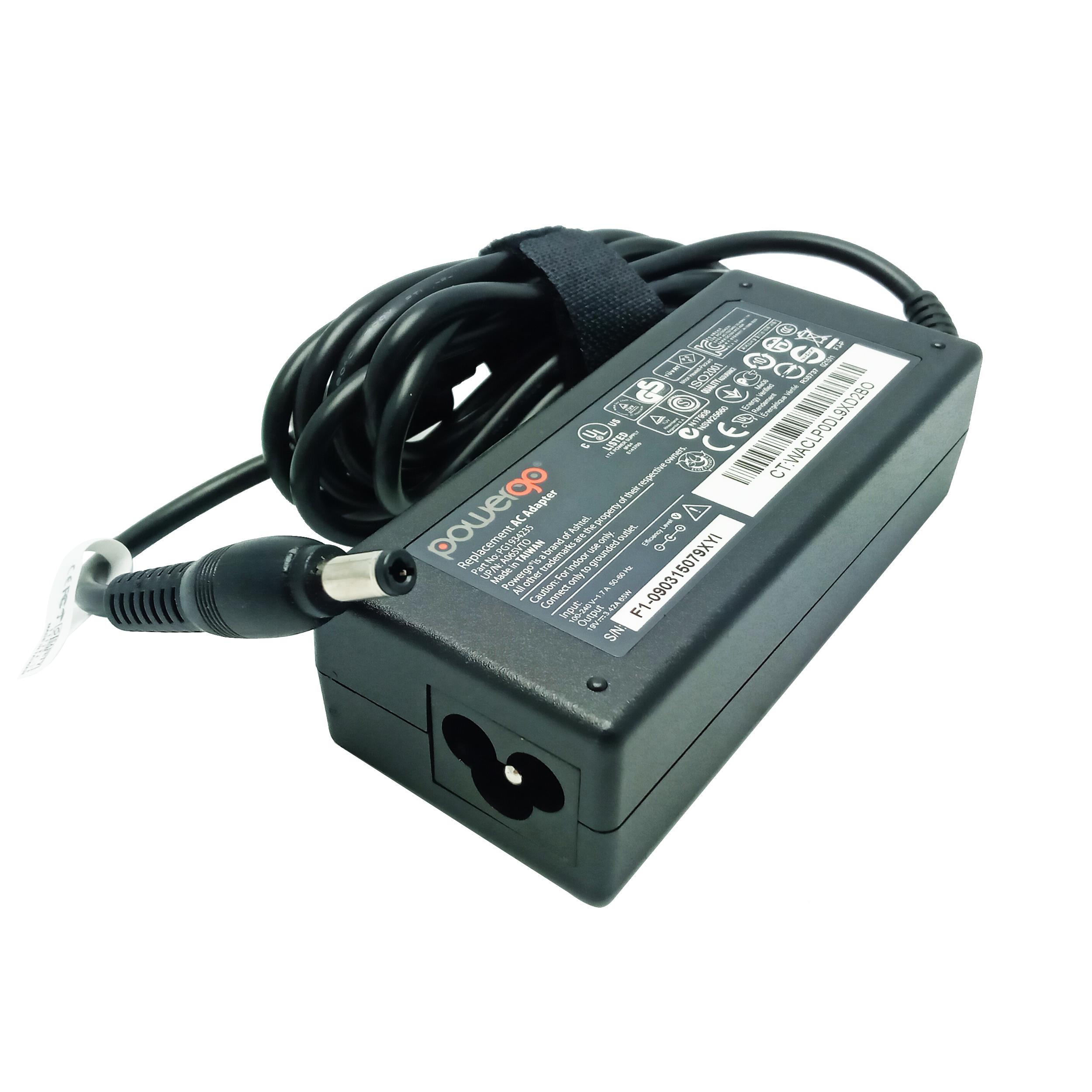 شارژر لپ تاپ 19 ولت 3.42 آمپر پاور گو مدل PWG-TO