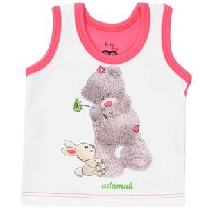 زیرپوش رکابی نوزادی آدمک مدل Woolly Bear