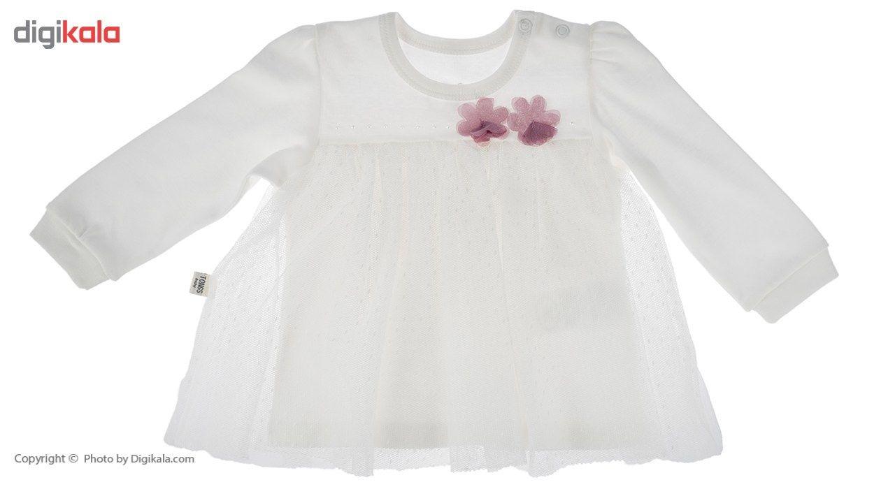 ست لباس دخترانه تونگز مدل L1028DP main 1 2
