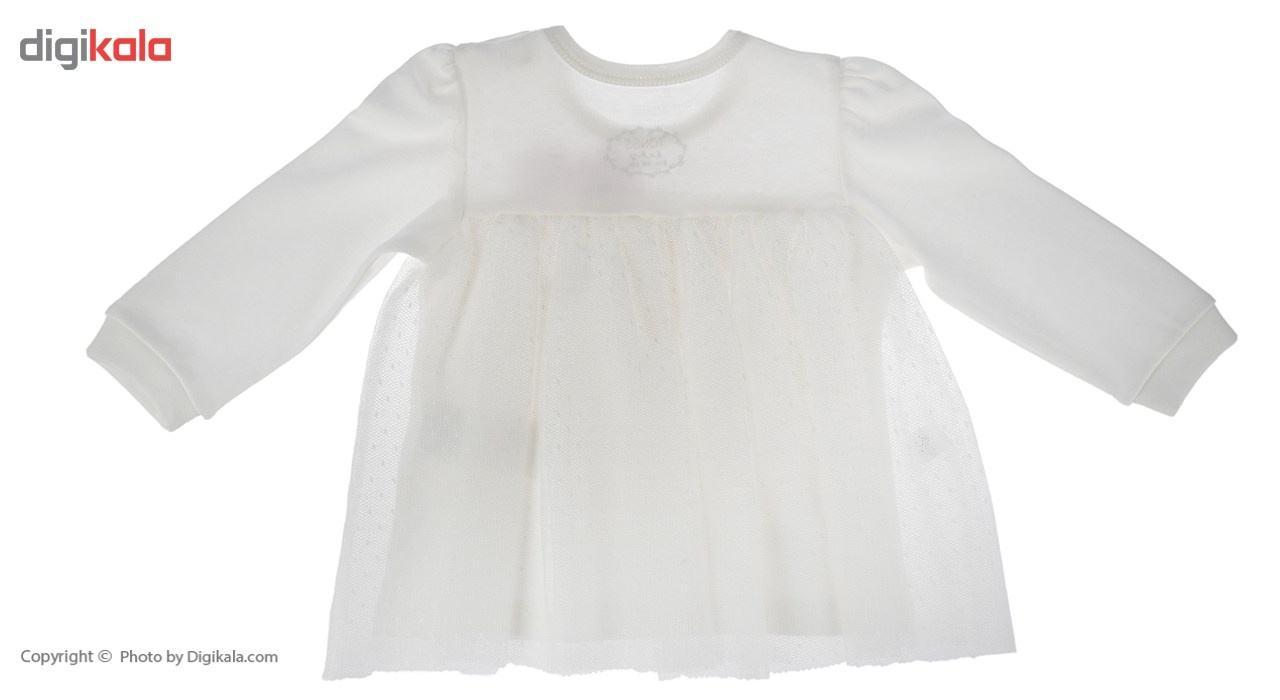 ست لباس دخترانه تونگز مدل L1028DP main 1 3