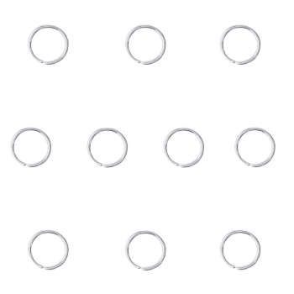 حلقه تزیینی مو کد SR 01 بسته 10 عددی