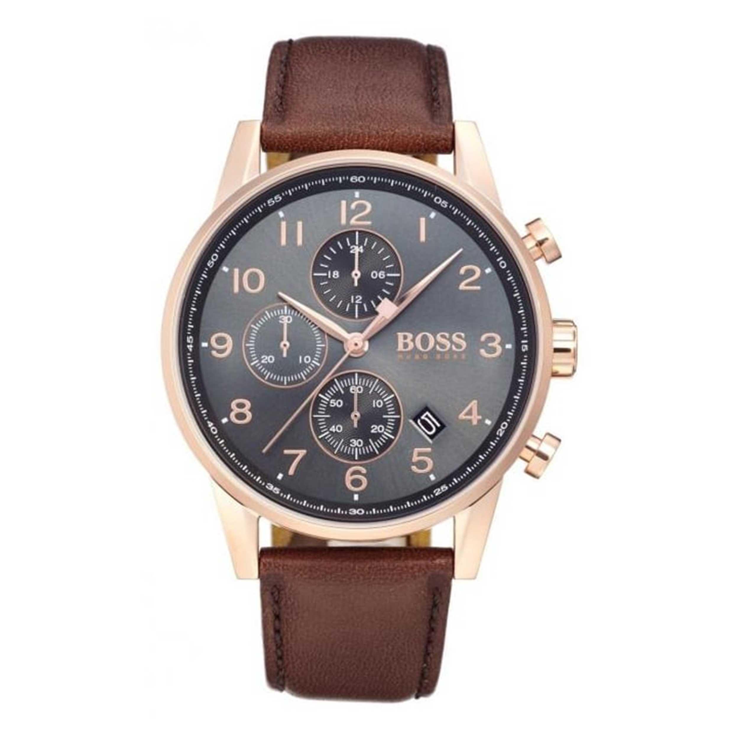 ساعت مچی عقربه ای مردانه هوگو باس مدل 1513496