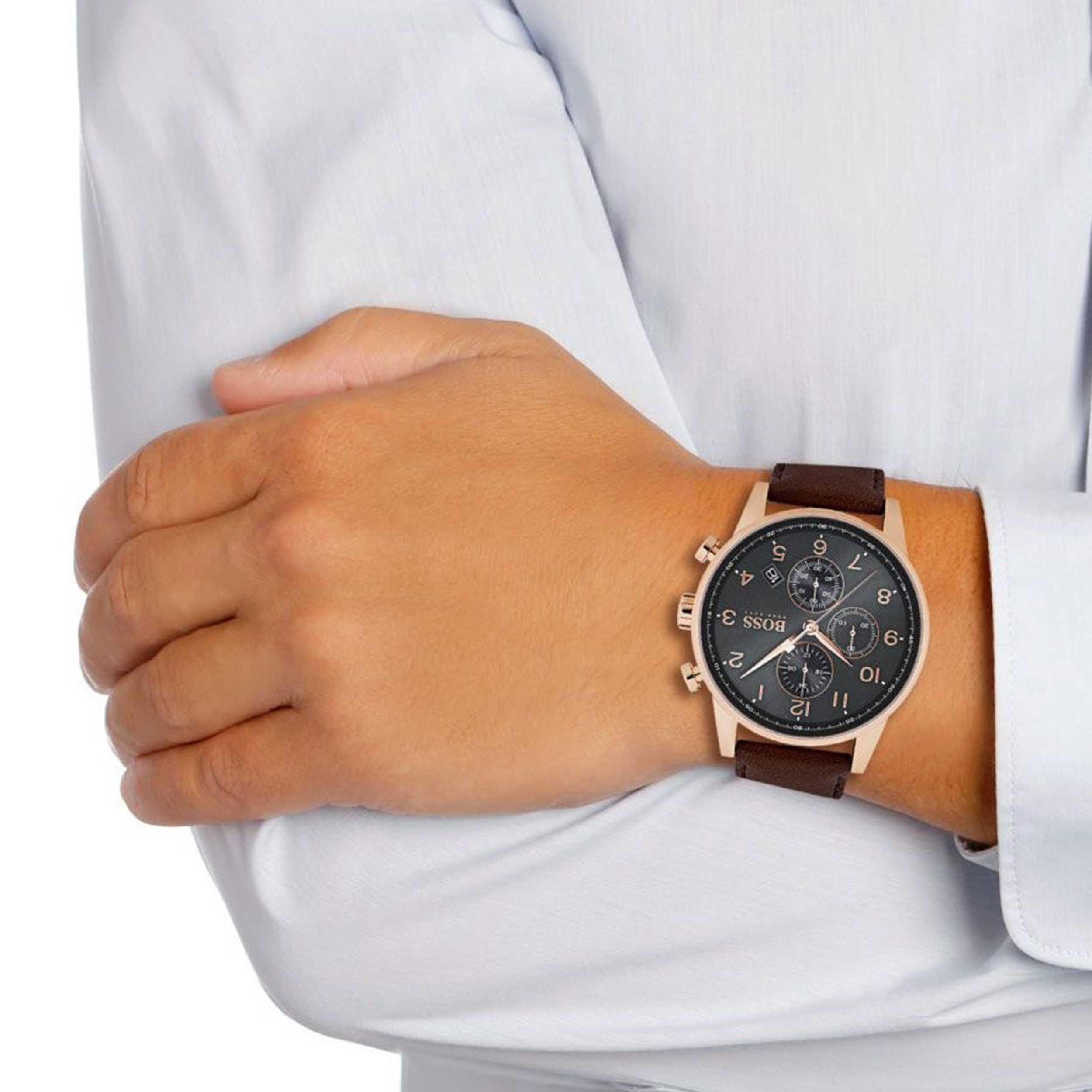 کد تخفیف                                      ساعت مچی عقربه ای مردانه هوگو باس مدل 1513496