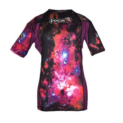 تصویر تی شرت آستین کوتاه ورزشی زنانه دراگون دو مدل Rashguard 151101