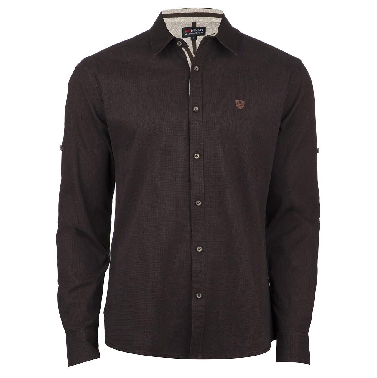 پیراهن آستین بلند مردانه ماب مدل 0024/06
