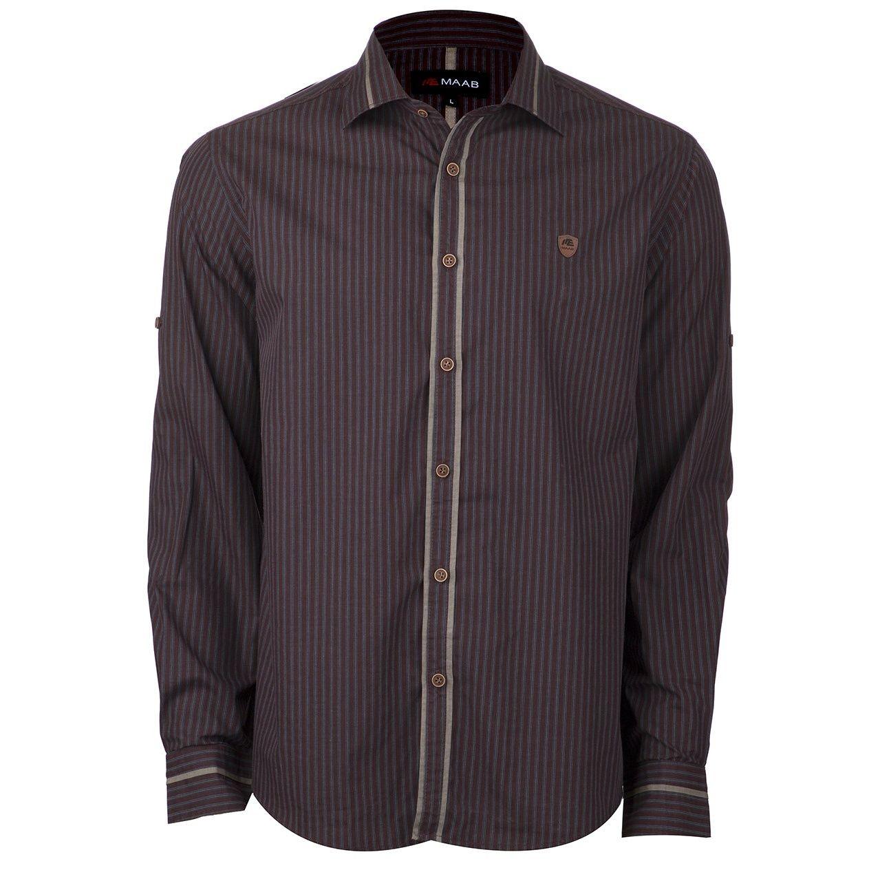 پیراهن آستین بلند مردانه ماب مدل 0091/01 -  - 1