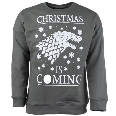 تصویر پولیور سبز مردانه سون پی ام مدل Christmas Is Coming