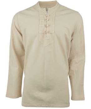 پیراهن  آندیا مدل چهارگره شیری