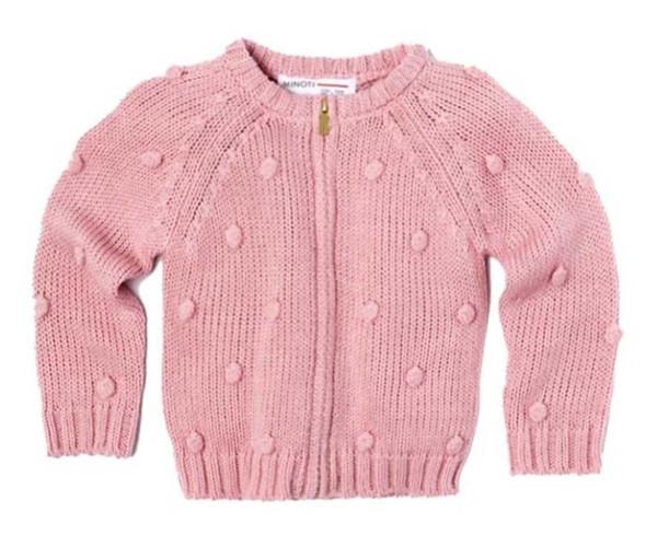 ژاکت دخترانه مینوتی مدل autumn pink