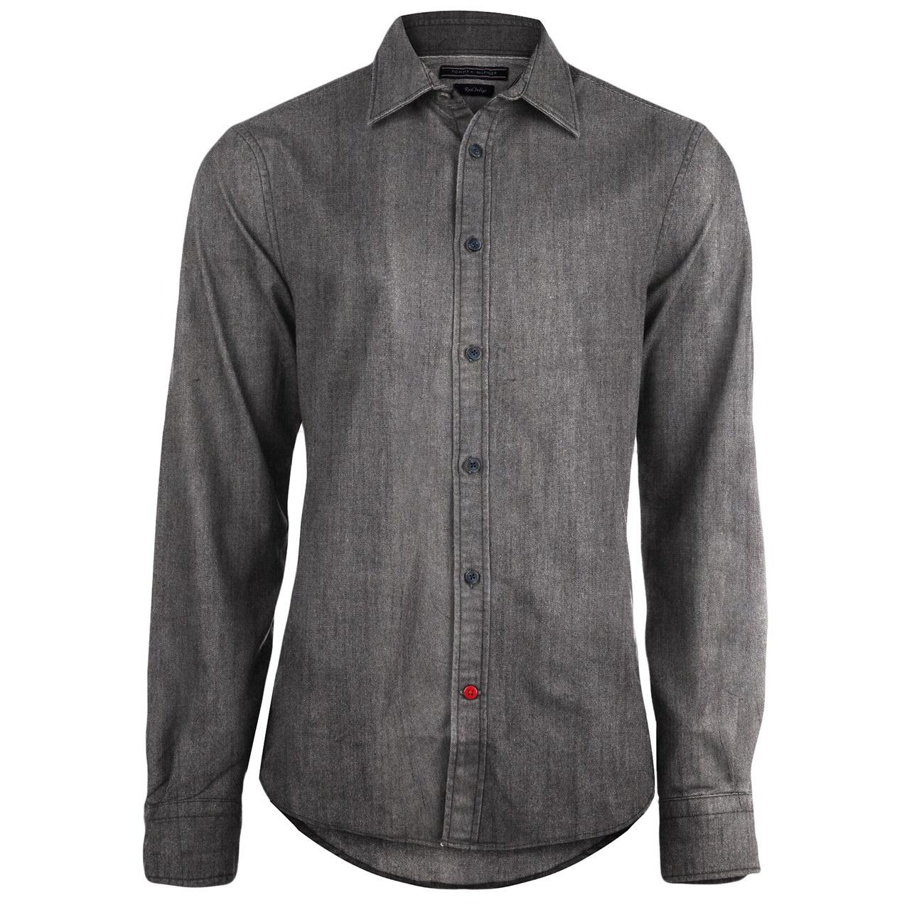 پیراهن آستین بلند مردانه تامی هلفیگر  مدل 54