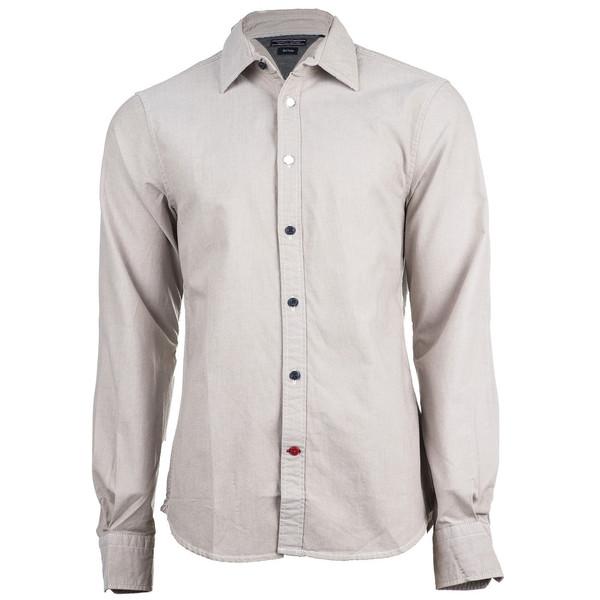 پیراهن آستین بلند مردانه تامی هلفیگر  مدل 53