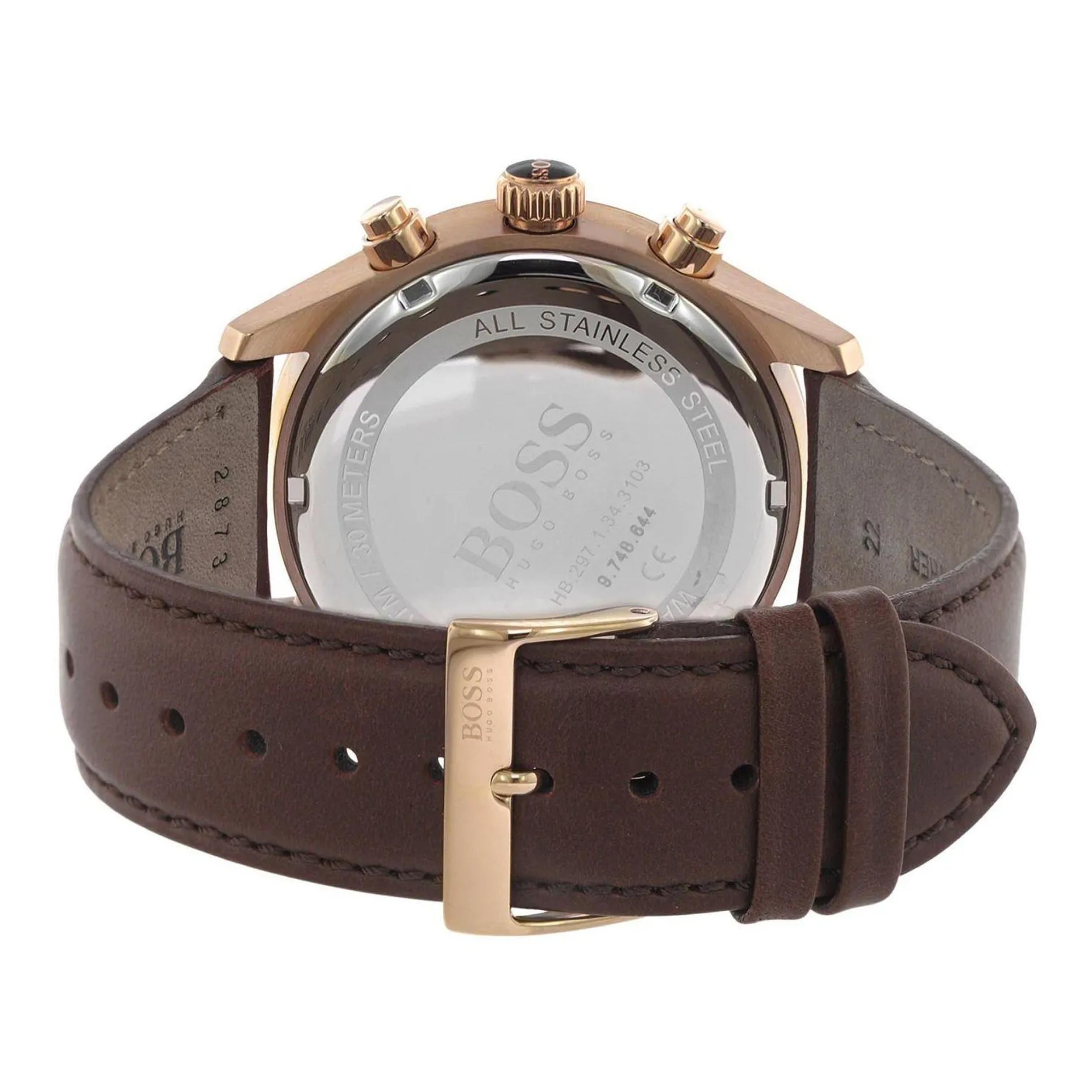 ساعت مچی عقربه ای مردانه هوگو باس مدل 1513605