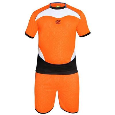 تصویر پیراهن و شورت فوتبال مدل ch 3111 کراس