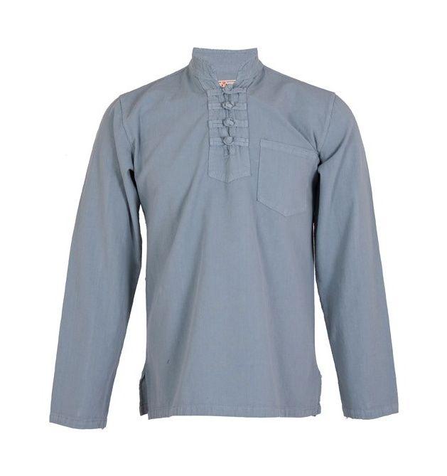پیراهن مردانه الیاف طبیعی چترفیروزه مدل چهارگره فیلی کد 7 main 1 1